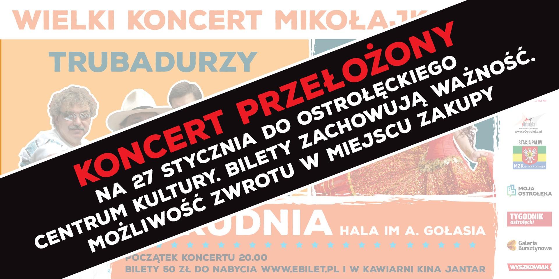koncert Trubadurów