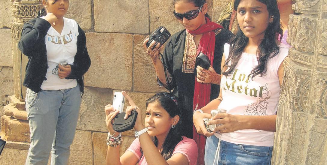 Młodzież w Delhi