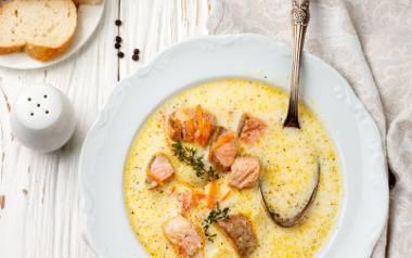 Fińska zupa łososiowa.