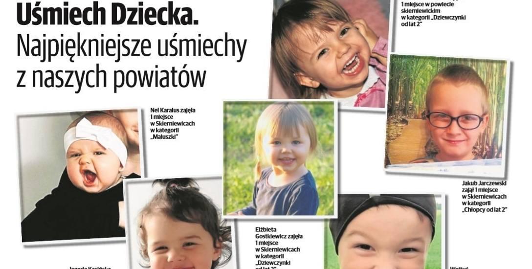 Zwycięzcy plebiscytu Uśmiech Dziecka w Skierniewicach oraz powiecie skierniewickim