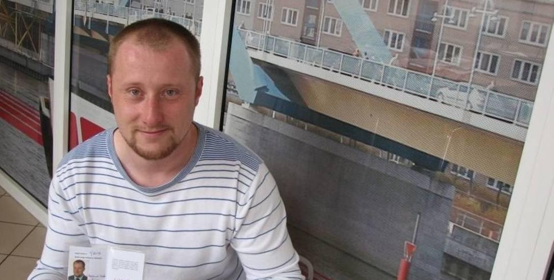 Roland Semik, społeczny opiekun zabytków powiatu słubickiego
