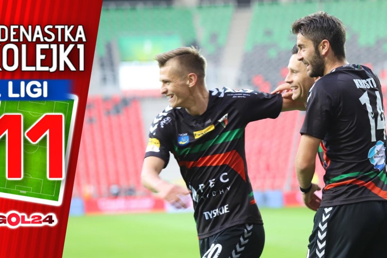Jedenastka 9. kolejki Fortuna 1 Ligi GOL24.pl!