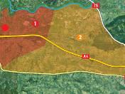 strefa 1: obejmuje Brzegi, Kokotów, Śledziejowice, Czarnochowice, Węgrzce Wielkie i Grabie. strefa 2: Niepołomice i Podgrabie ( tereny na zachód od drogi