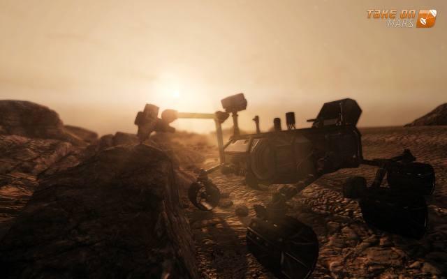 Take On Mars: Symulator marsjańskiego łazika (wideo)