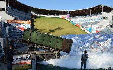 Produkcja śniegu już trwa. Można powiedzieć, że wszystko dopięte jest na 95 procent - zapewnia Andrzej Wąsowicz.