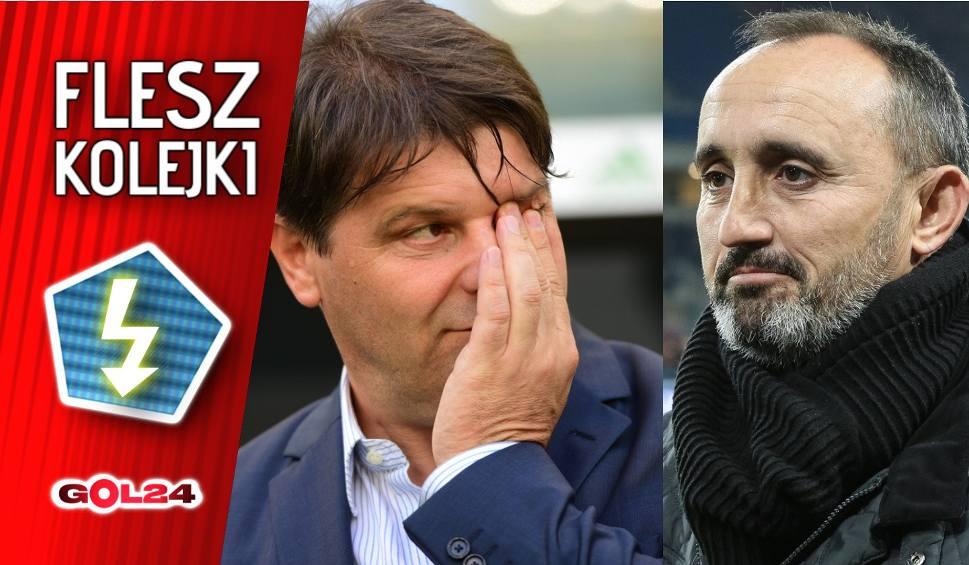 Film do artykułu: Flesz 19. kolejki Ekstraklasy: Adios, entrenadores
