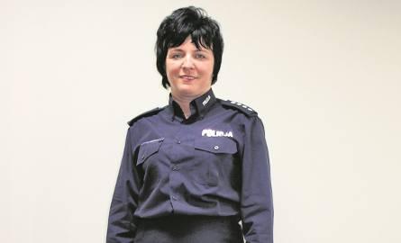 Nadkomisarz Dorota Tokarz pracuje w gorlickiej komendzie od września minionego roku