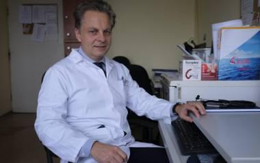 Dr n. med. Sławomir Badurek jest diabetologiem i specjalistą chorób wewnętrznych Wojewódzkim w Szpitalu Zespolonym w Toruniu