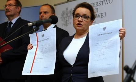 Minister Anna Zalewska we Wrocławiu