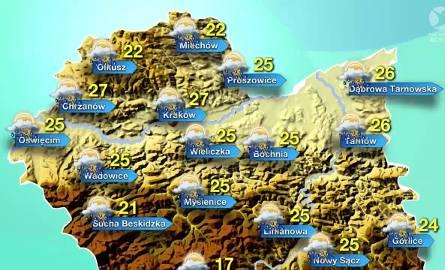 Pogoda w sobotę, 28 maja