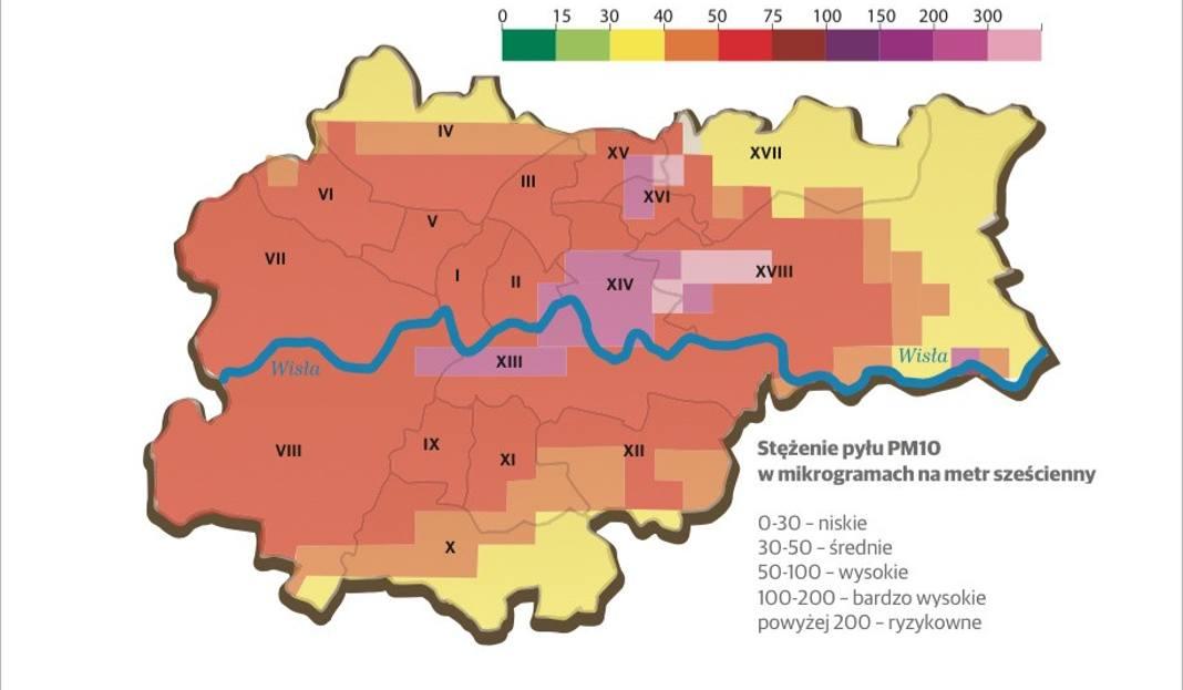 Smog Krakow Mapa Gazetakrakowska Pl