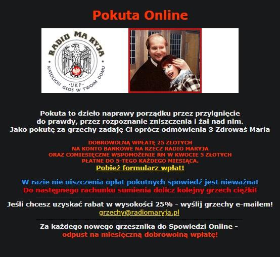 Spowiedź online