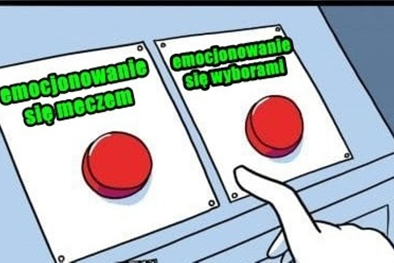 Wybory czy mecz? Zobacz MEMY po meczu Polski!