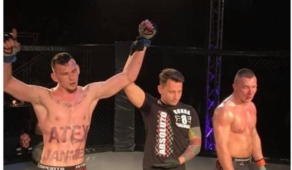 Film do artykułu: Mateusz Rybak z Gorzowa pokonuje koszalinianina na gali MMA [ZDJĘCIA, WIDEO]