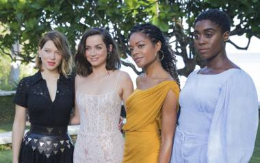Od lewej: Lea Seydoux, Ana de Armas, Naomie Harris i Lashana Lynch