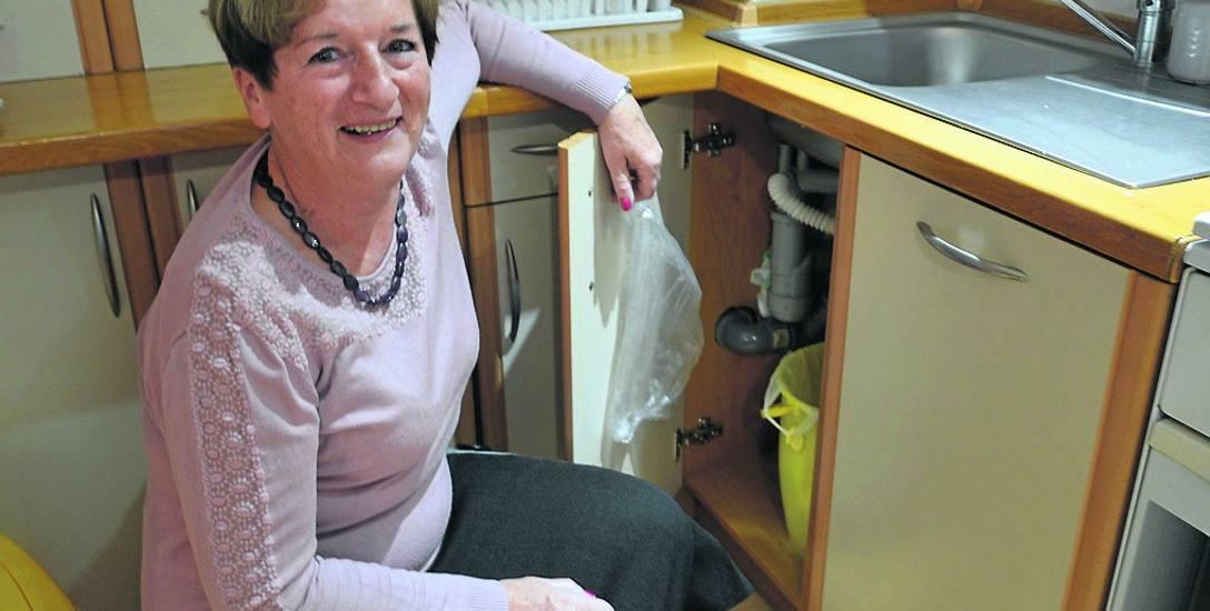 Regina Kusiak segreguje śmieci od zawsze. Nawet gdy nie trzeba było dokładnie segregować