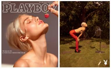Szczecinianka Nicole Gregorczuk gwiazdą sierpniowego wydania Playboy Polska