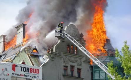Pożar rektoratu Politechniki Łódzkiej. Rozpoczął się remont