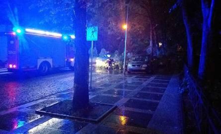 Burza w Koszalinie. 11 interwencji straży pożarnej