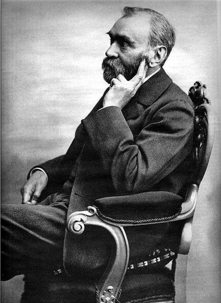 Alfred Bernhard Nobel (ur. 21 października 1833 w Sztokholmie, zm. 10 grudnia 1896 w Sanremo) – przemysłowiec i naukowiec szwedzki, wynalazca dynamitu,