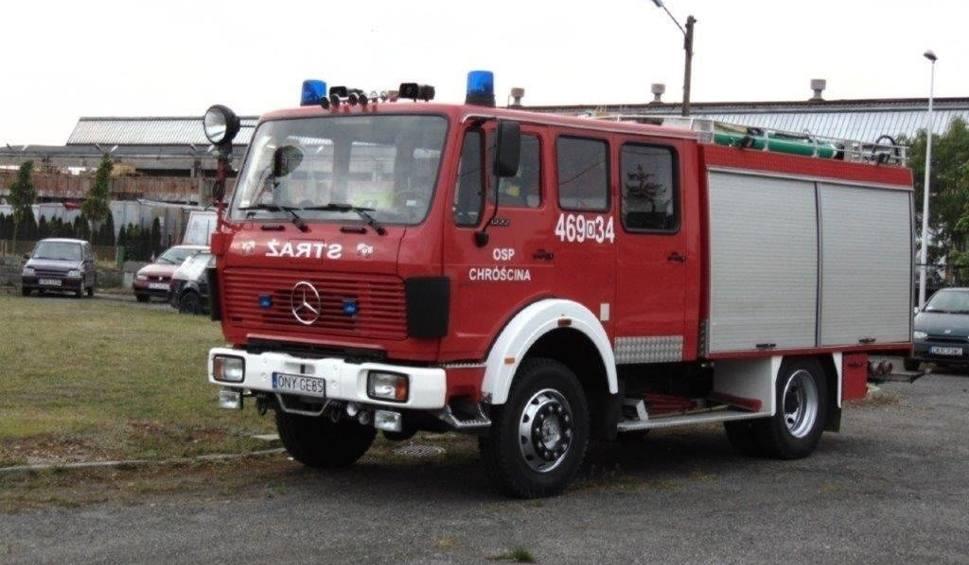 Film do artykułu: Pijani strażacy z OSP Chróścina pojechali na akcję. Broni ich cała wieś
