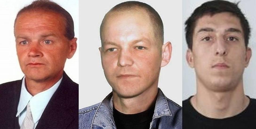 44-letni Adam Luto (z lewej) miał być inicjatorem napadu na suwalski szpital, w którym zginęła kasjerska. Do zdarzenia doszło w latach 90. 61-letniego