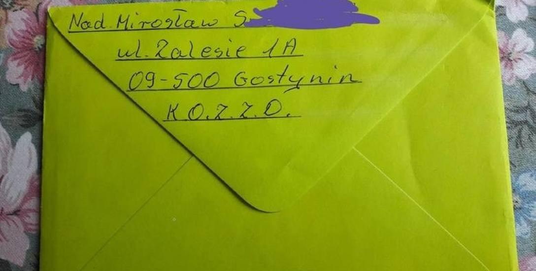 Pedofil Mirosław S. poznał dane Hani i wysłał jej z Gostynina kartkę na urodziny oraz dwie paczki