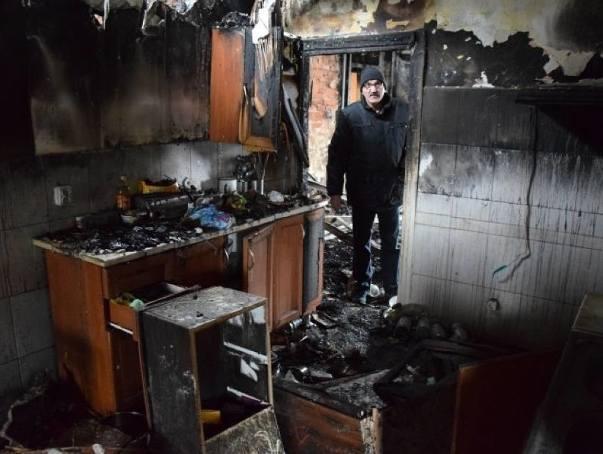 Po pożarze w Gniazdowie rodzina prosi o wsparcie - stracili dorobek życia