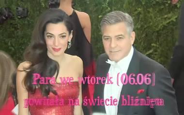 Amal Clooney urodziła bliźnięta. Znamy imiona dzieci