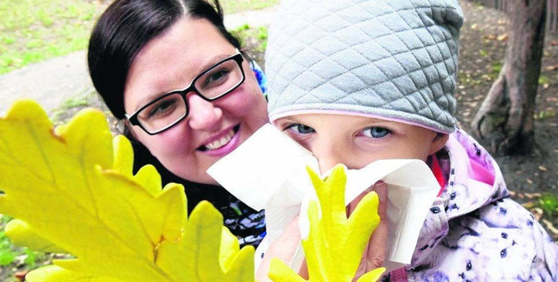 - Kiedy córka jest przeziębiona, nie puszczam jej do przedszkola - mówi Izabela Brygider-Maciąg.