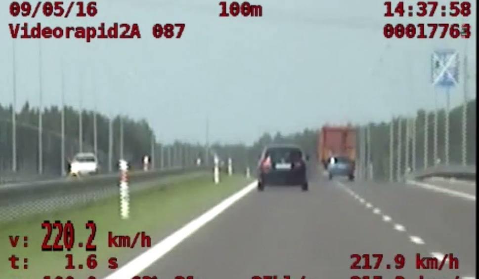 Film do artykułu: Pirat gnał po S3 z prędkością 220 km/h [WIDEO]