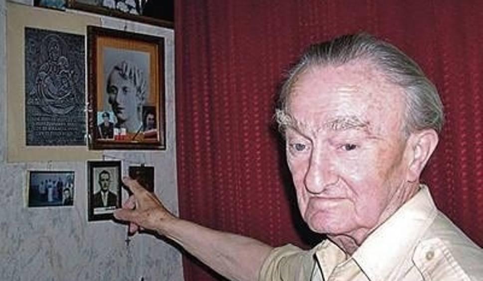 Mirosław Ropelewski mówi, że wszystko, co kochał, bezpowrotnie zginęło. Niemcy wymordowali mu najbliższych, zgładzili jego miasto... Fot. Agata Śliw