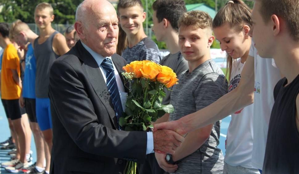 Film do artykułu: Jerzy Przyborowski, radomski lekkoatleta, obchodził 90 urodziny (ZDJĘCIA, WIDEO)