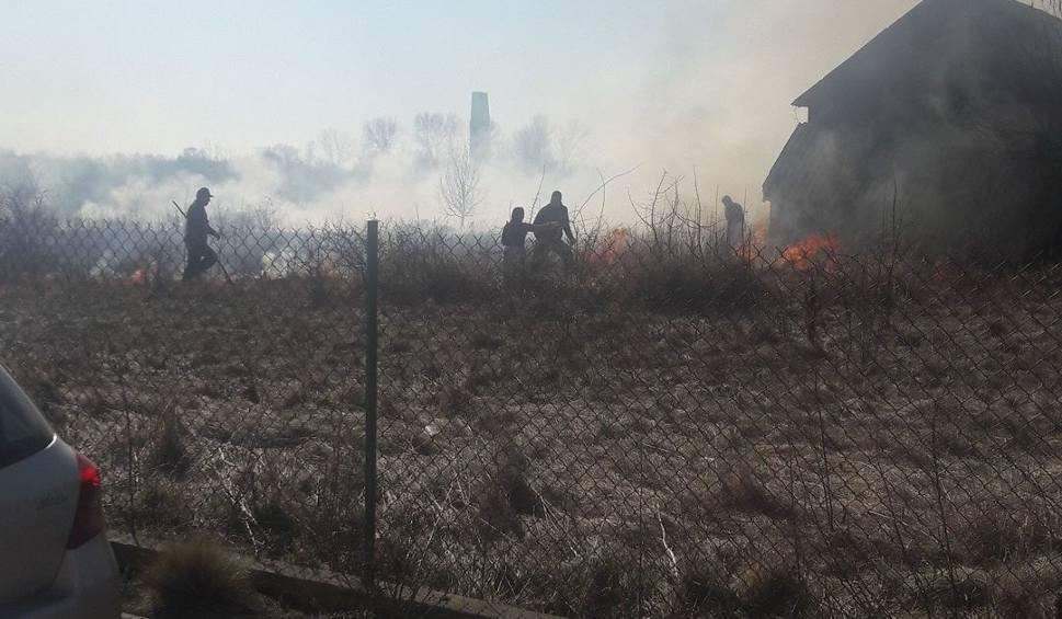 Film do artykułu: Pożar w Owczarach. Mężczyzna ukarany mandatem