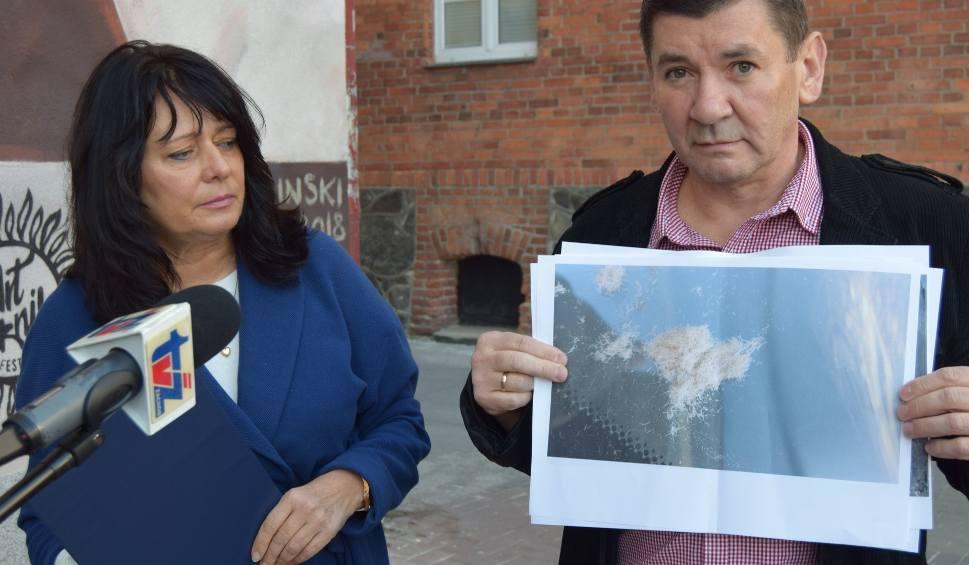 Film do artykułu: Terra w Szczecinku krytykuje Kronospan za pylenie i odory. Firma odpowiada