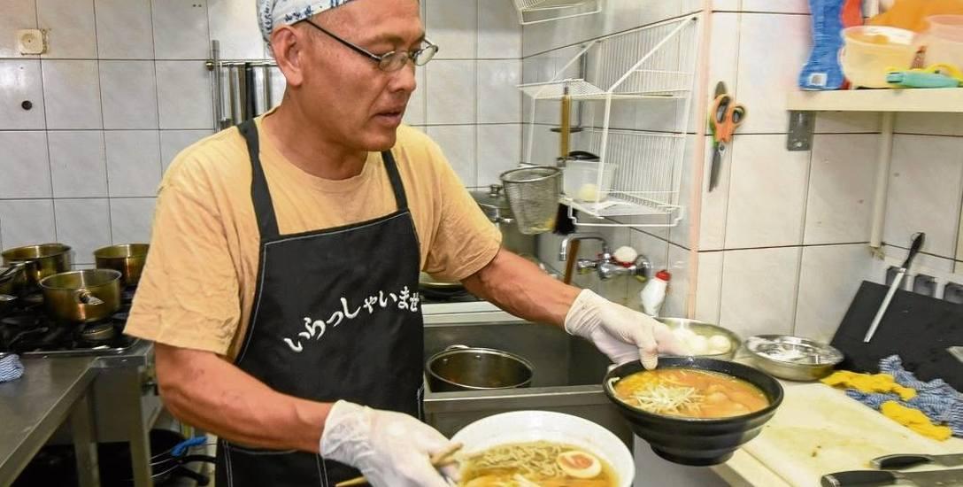 Znana do tej pory głównie z sushi japońska kuchnia w innej odsłonie. Toshikazu Seguchi serwuje ramen