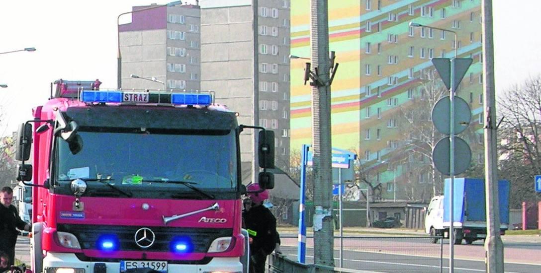 Straż pożarna naciska, aby SSM wyposażyłą wieżowce w oddymiacze