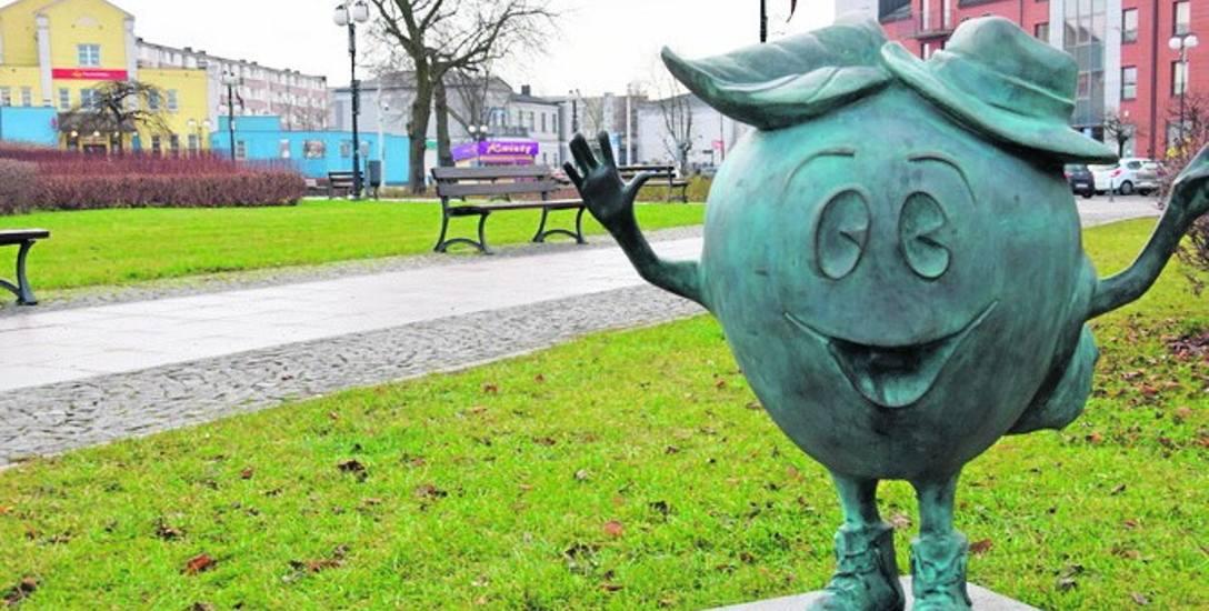 Na placu przy dworcu PKP miałby powstać kolejny pomnik. Tym razem nawiązujący do historii, nie zaś...jabłek.