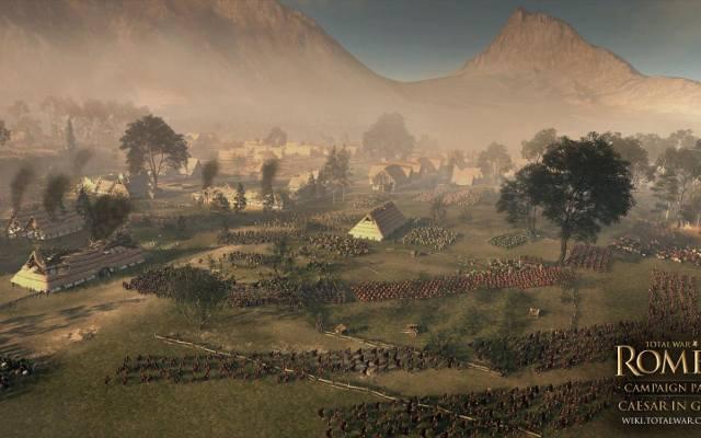 Total War: Rome II. Cezar w Galii już w grudniu
