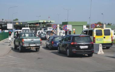 Granicę polsko-ukraińską najwięcej podróżnych przekracza przejściem Medyka-Szeginie.