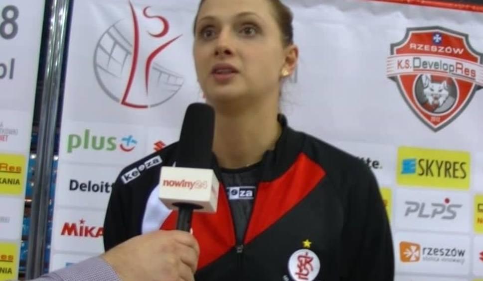 Film do artykułu: Zuzanna Efimienko: Jeszcze do końca nie wierzę, że wygrałyśmy w Rzeszowie [WIDEO]