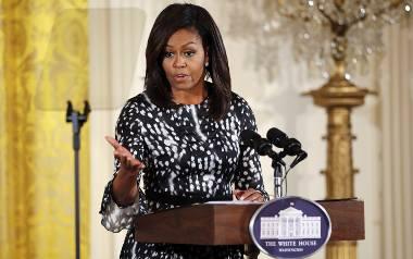 Michelle Obama zabrała głos w sprawie seksualnych przechwałek Donalda Trumpa,