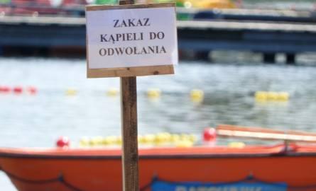 Plaża Miejska Dojlidy w Białymstoku otwarta, ale obowiązuje zakaz kąpieli! W wodzie wykryto paciorkowce kałowe