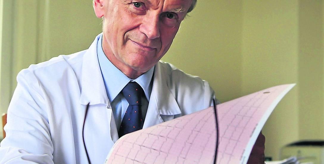 Prof. Piotr Ponikowski. - Mam precyzyjnie ustalony plan pracy i zaczynam już od 6. rano