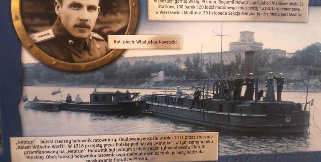 Tak wyglądał holownik ratowniczy zbudowany w Koźlu