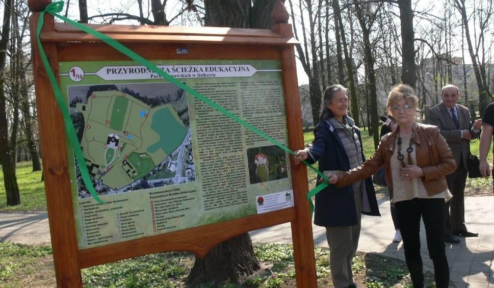 Film do artykułu: Ścieżka przyrodnicza - nowa atrakcja w parku przy Zamku Dzikowskim w Tarnobrzegu