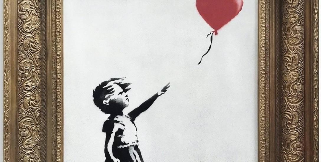 Słodka zemsta mistrza graffiti. Banksy zniszczył dzieło, ale nabywca zarobił