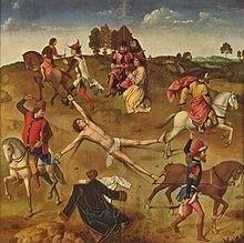 Obraz Dirka Boutsa Męczeństwo św. Hipolita