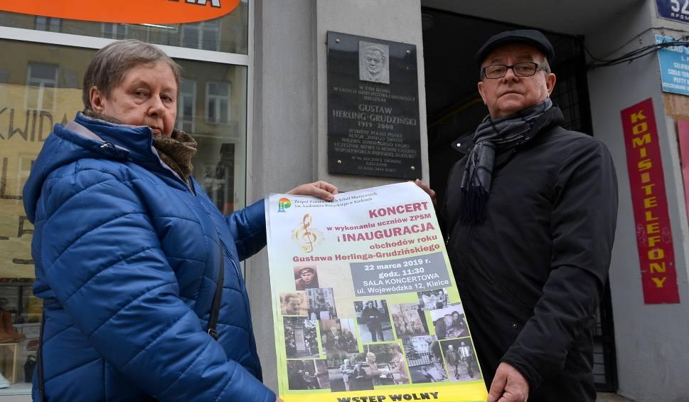Film do artykułu: W Kielcach oficjalnie zainaugurowano obchody roku Gustawa Herlinga-Grudzińskiego [WIDEO]