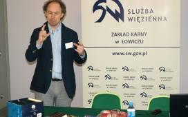 Michał Pol w ZK w Łowiczu